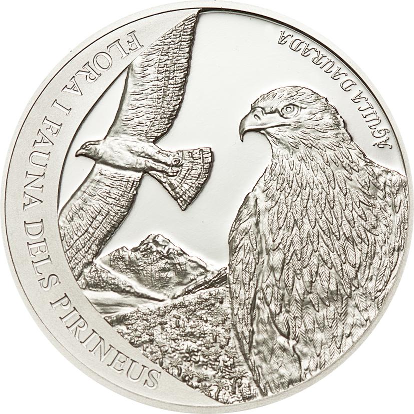 Andorra 2011 4 Diners Golden Eagle Silver Coin