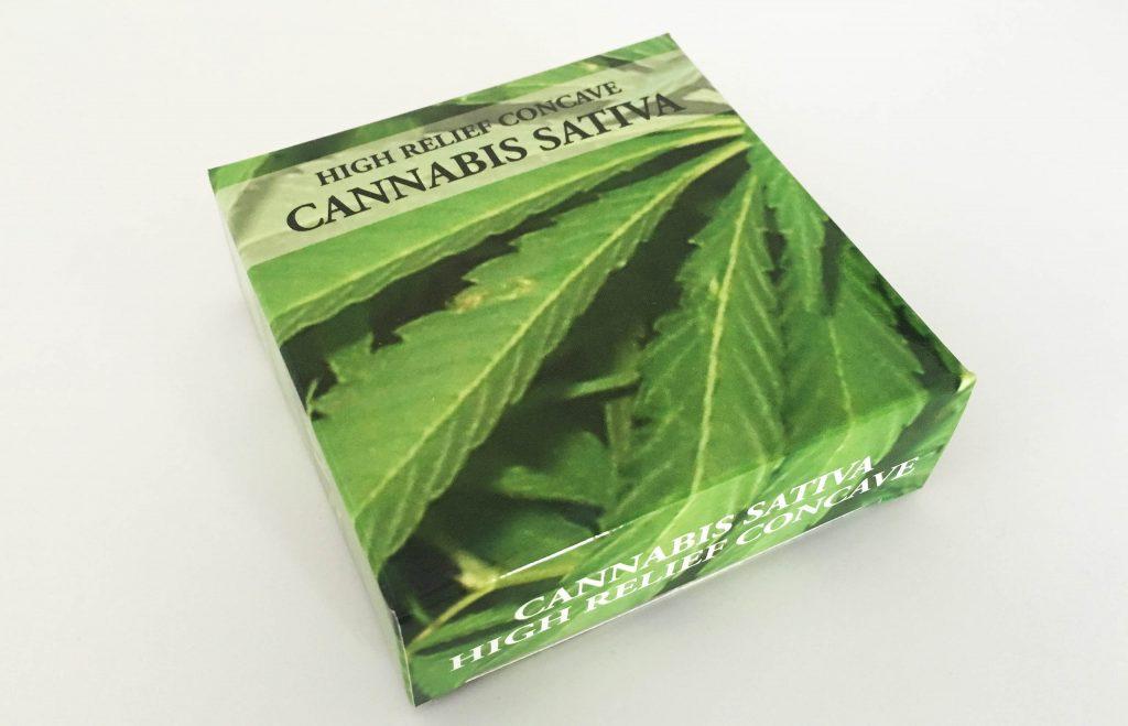 Benin 2016 1000 Francs Cannabis Sativa High relief Silver Coin