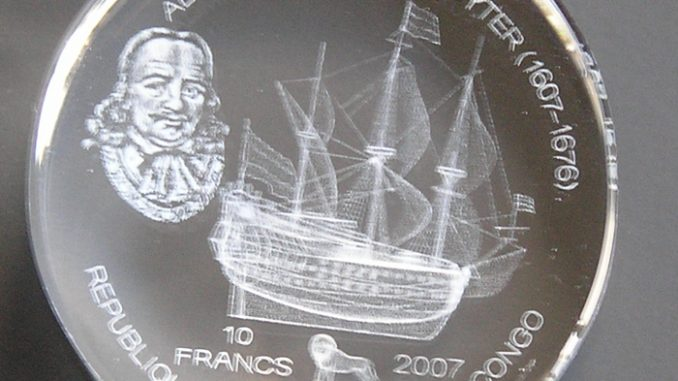 Congo 2007 10 Francs Michiel de Ruyter