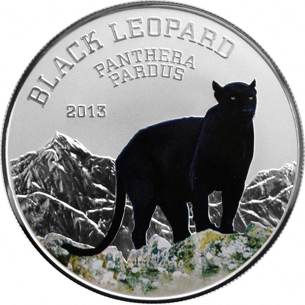 Congo 2013 1000 Francs Black Panther
