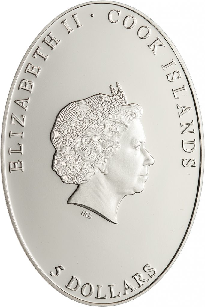 Cook Islands 2012 5 Dollars Amor Victorious Silver Coin