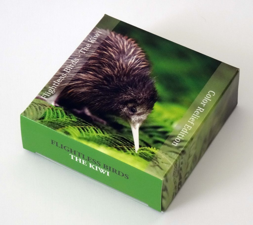 Cook Islands 2014 5 Dollars The Kiwi Silver Coin
