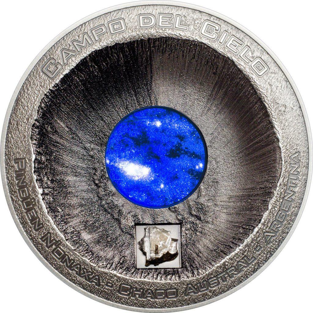 Cook Islands 2016 20 Dollars Meteorite Campo del Cielo Silver Coin
