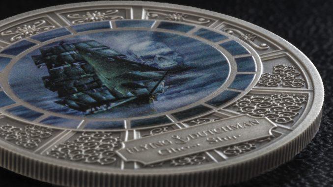 Cook Islands 2016 5 Dollars Flying Dutchmen SIlver Coin