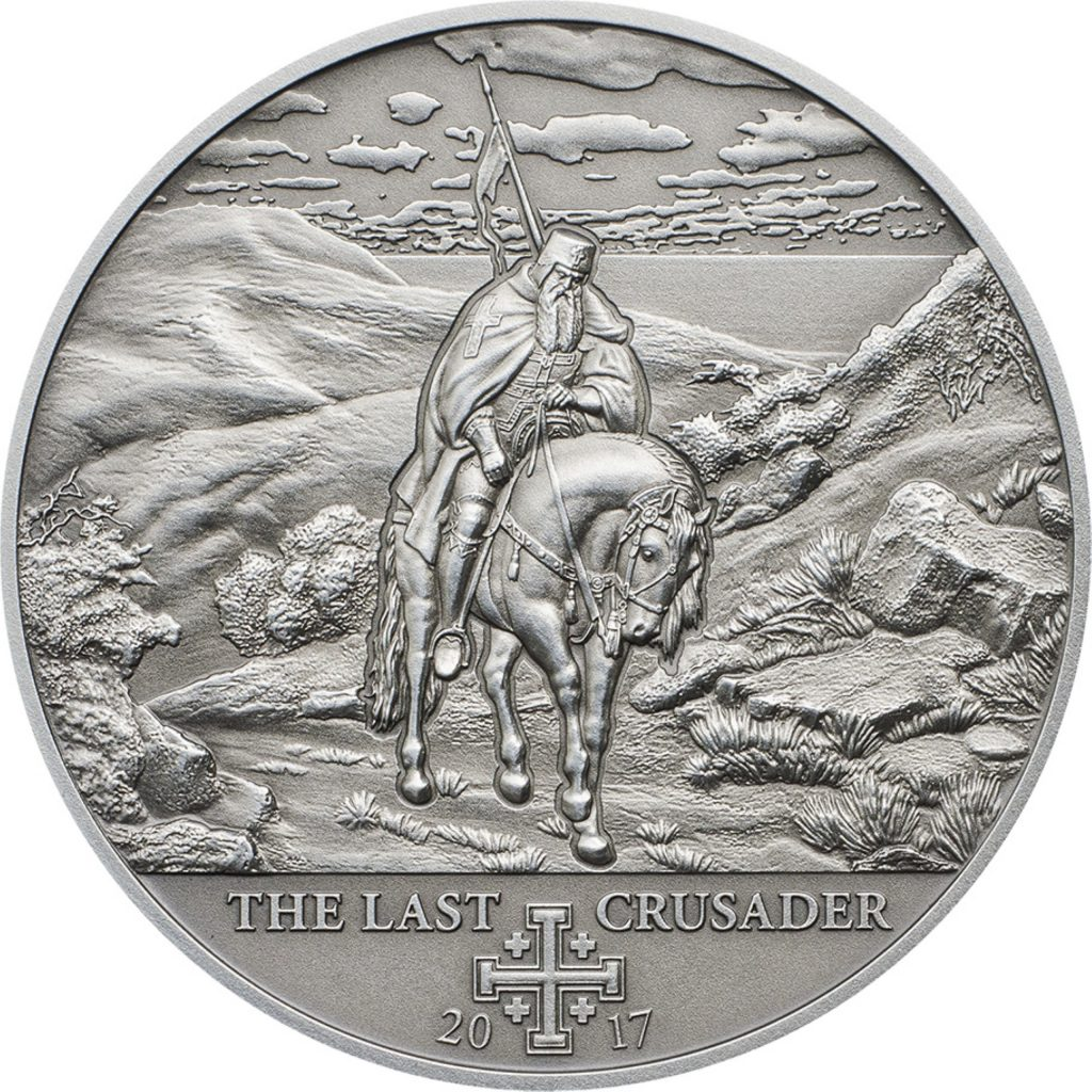 Cook Islands 2017 5 Dollars 10th Crusade The Last Crusader Silver Coin