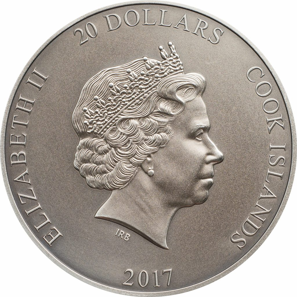 Cook Islands 2017 20 Dollars God Quetzalcoatl Silver Coin