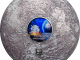 Cook Islands 2019 20 Dollars Meteorite Moon 11 50th Anniversary Edition Silver Coin