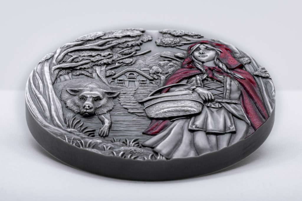 Cook Islands 2019 20 Dollars Little Red Riding Hood Silver Coin