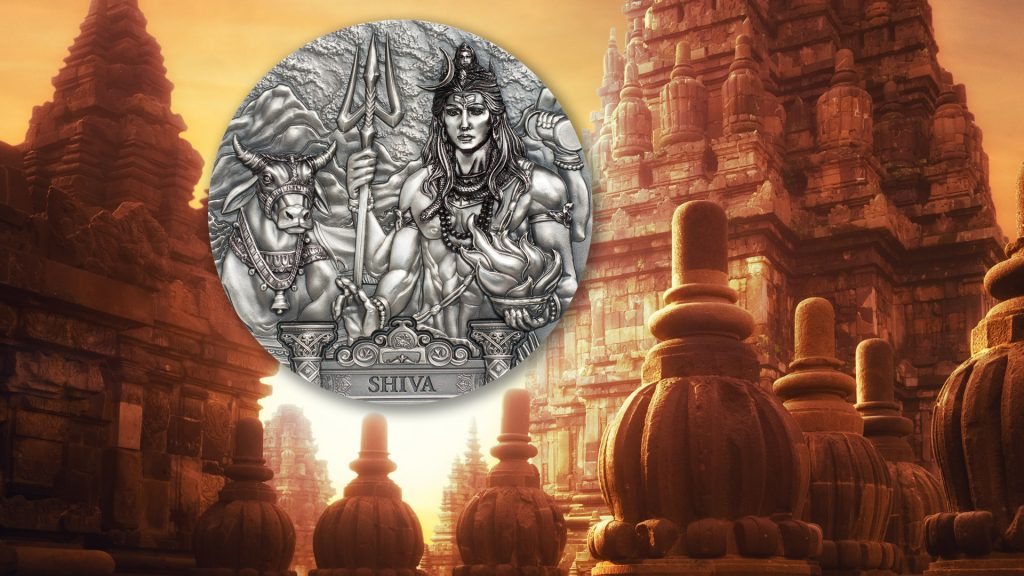 Cook Islands 2020 20 Dollars Shiva Protector of the Universe Silver Coin