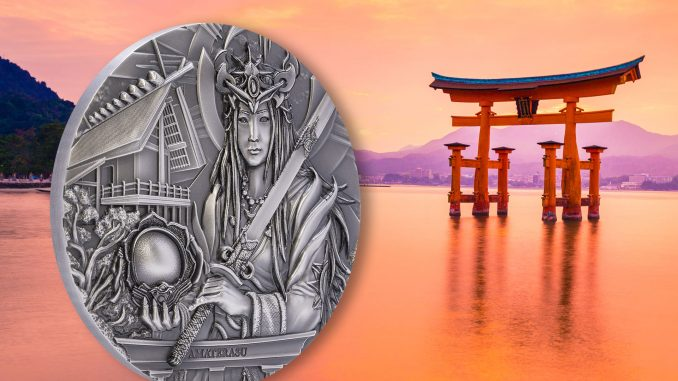 Cook Islands 2021 20 Dollars Amaterasu God Series Silver Coin
