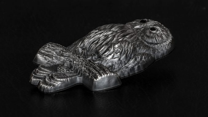 Mongolia 2019 1000 Togrog Ural Owl Silver Coin