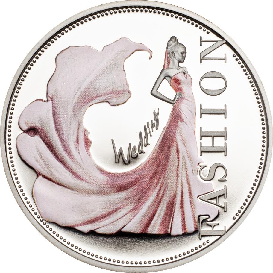 Niue 2013 1 Dollar Fashion Wedding Silver Coin