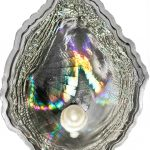 Palau 2011 5 Dollars Oyster Silver Coin