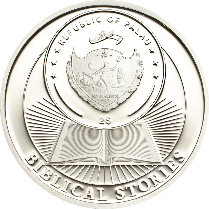 Palau 2013 2 Dollars Arc of Noah Silver Coin