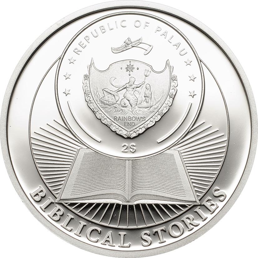 Palau 2014 2 Dollars Holy Three Kings Silver Coin
