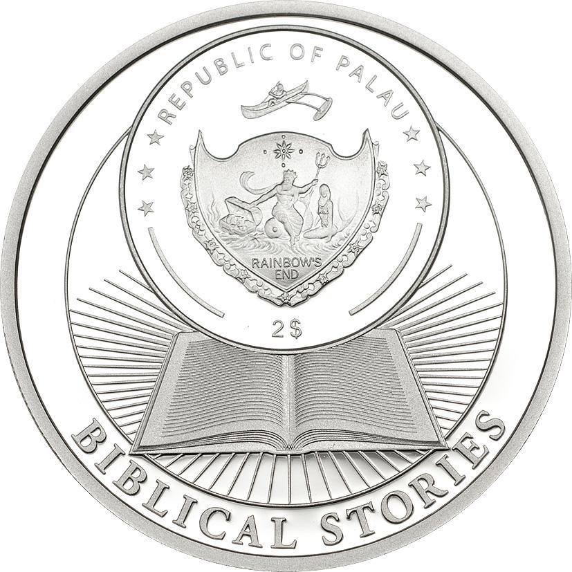 Palau 2015 2 Dollars Last Supper Silver Coin