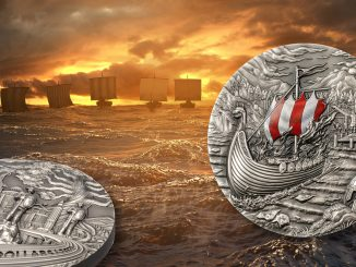 Palau 2021 10 Dollars The Vikings Afterlife Rites of Passage Series Pure Silver Coin