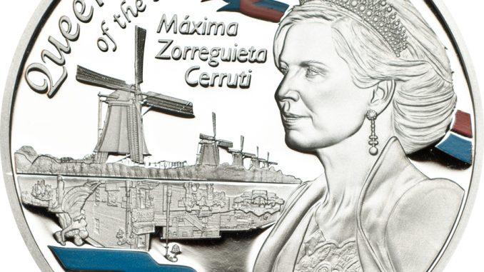 Tanzania 2014 1000 Shillings Queen Maxima Silver Coin