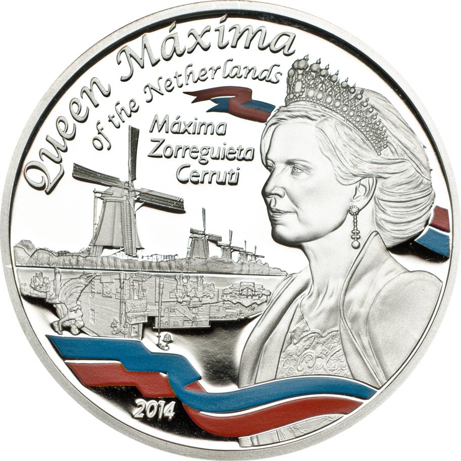 Tanzania 2014 100 Shillings Queen Maxima Copper Coin