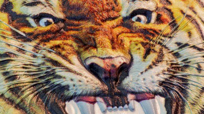 Tanzania 2017 1500 Shillings The Bengal Tiger Silver Coin
