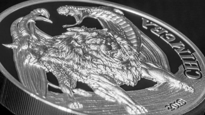 Tanzania 2018 1500 Shillings Chimera Silver Coin