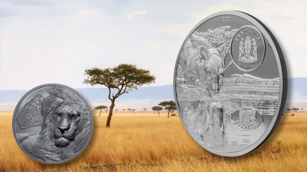 Tanzania 2021 1500 Shillings Lions - Growing Up Silver Coin